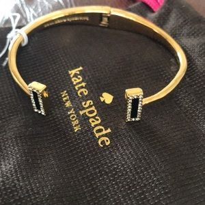 Kate Spade NWT raising the bar cuff bracelet.